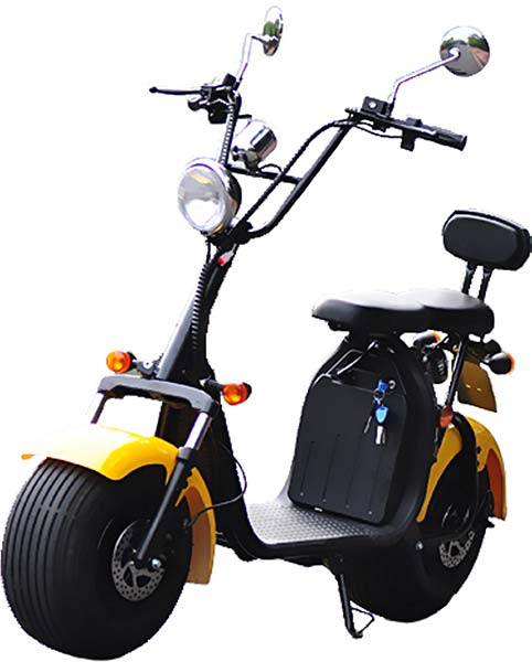 Citycoco moped