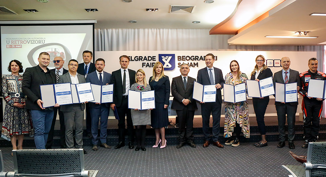 Big Awards at Belgrade Fair
