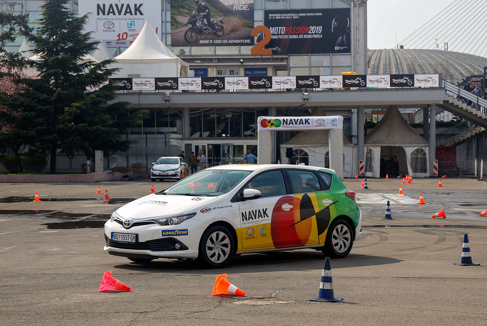 NAVAK practically educates drivers about safe driving techniques on a daily basis